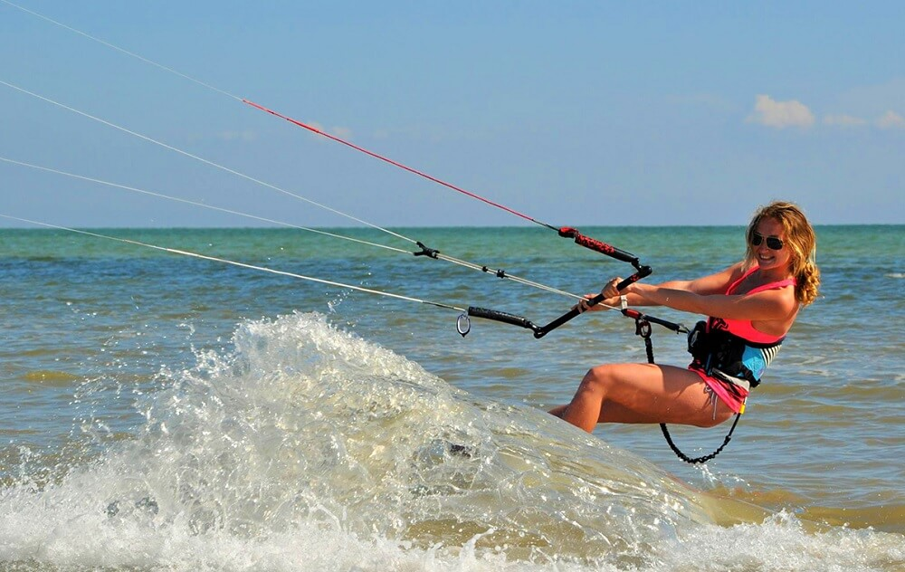 Kitesurfing in Ukraine